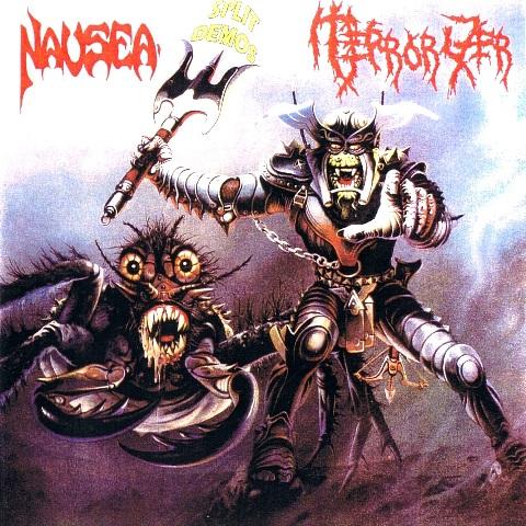 1988 - Terrorizer & Nausea Split 01