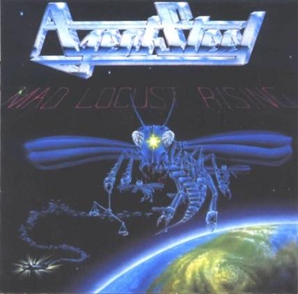 Agent Steel - Mad Locust Rising - Front